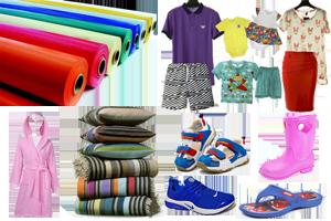 Одежда, обувь и материалы код уктзед